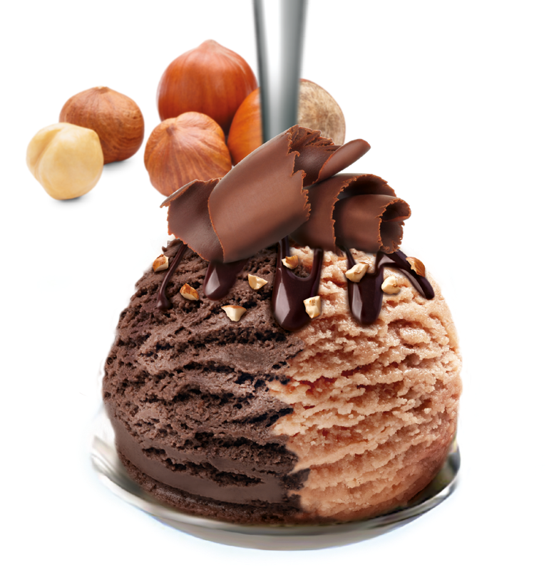 Cioccolato nocciole e granella