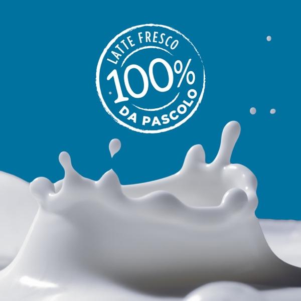 100% latte da pascolo