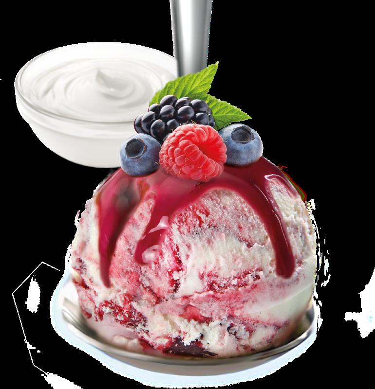 yogurt e frutti di bosco
